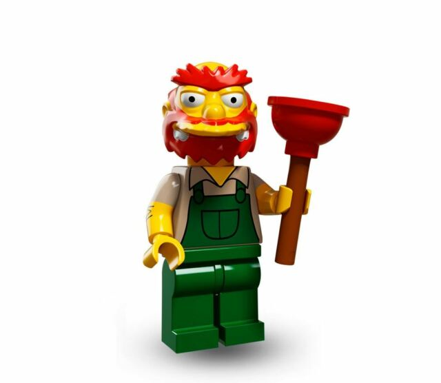 LEGO Minifigures/Minifiguras 71009 - The Simpsons Serie 2 - Groundskeeper Willie