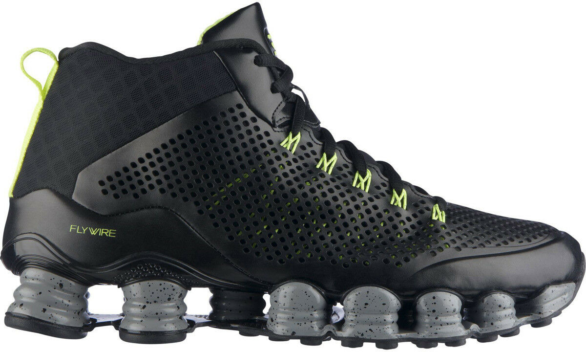c4212574465a8 ... Nike Shox TLX Mid SP Shoes Size 9 Black Silver Volt 677737 007 eBay  Picture 1 of 9 .