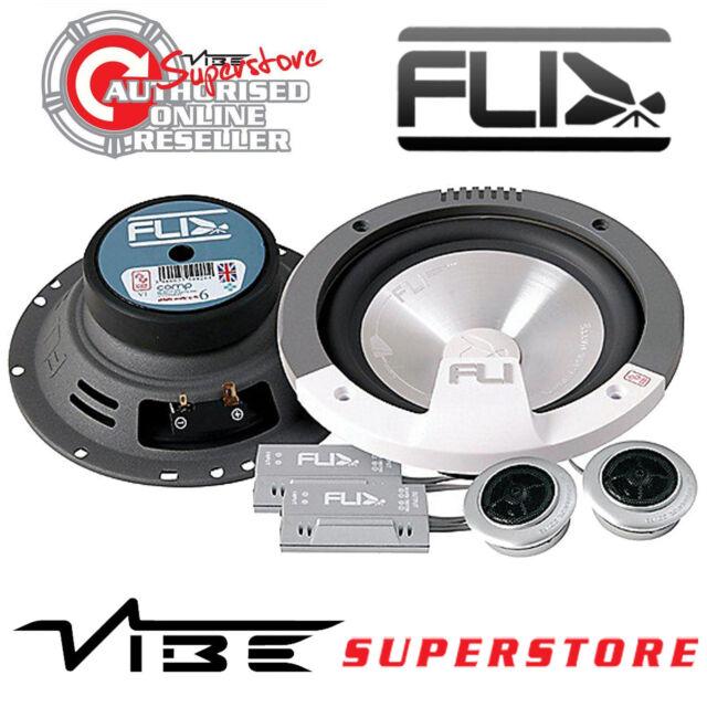 """Fli COMP6-F3 6.5"""" 17cm 2 Way 255 watts Component Car & Van Speakers"""