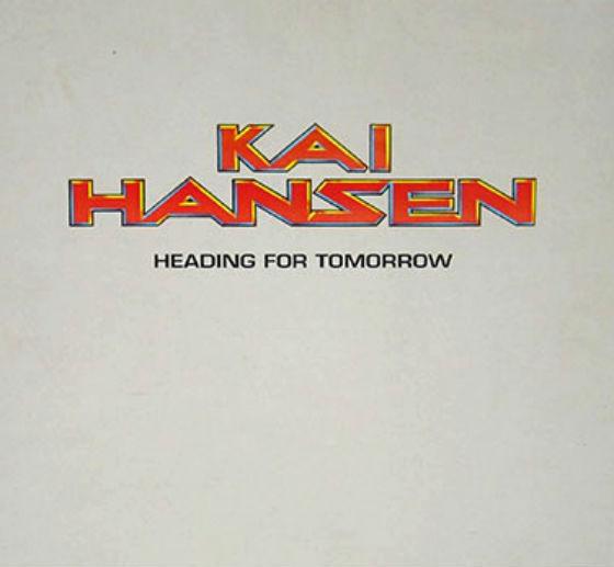 KAI HANSEN GAMMA RAY Heading für TOMORROW Deutsch Vinyl-LP LP