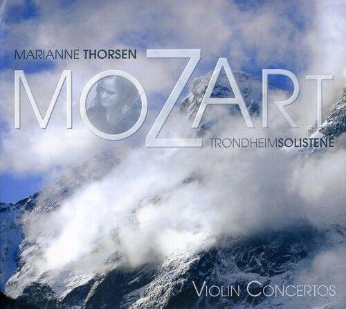 Marianne Thorsen, W.a. Mozart - Violin Concertos [New SACD] Hybrid SACD