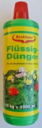 Blumendünger flüssig 1 Liter Beckmann