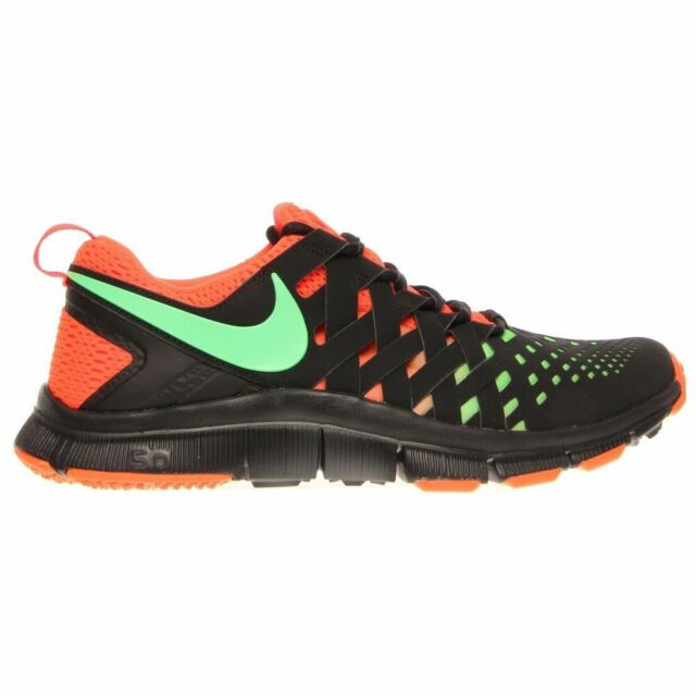 Nike Free Trainer 5.0 NRG Mens Shoe size 10 579813-003 Black/Green/