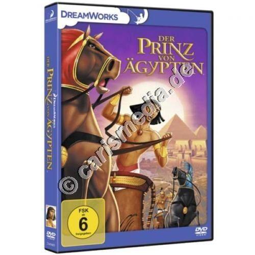 DVD: DER PRINZ VON ÄGYPTEN - Die Geschichte des Moses und seines Volkes *NEU*