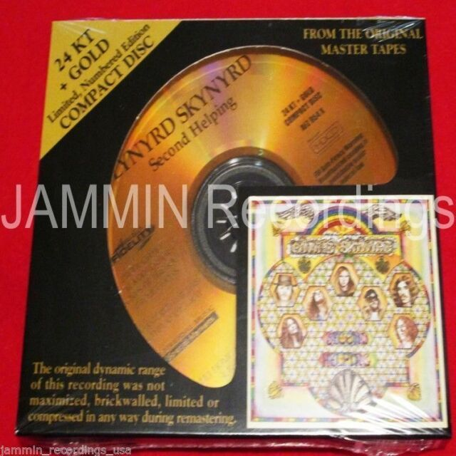 LYNYRD SKYNYRD - SECOND HELPING - 24 kt Gold CD - Audio Fidelity - AFZ054