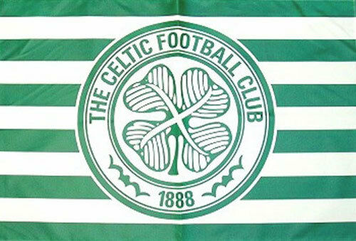 Celtic Fc Flag  Official Scotland Scottish Football Club Team Soccer