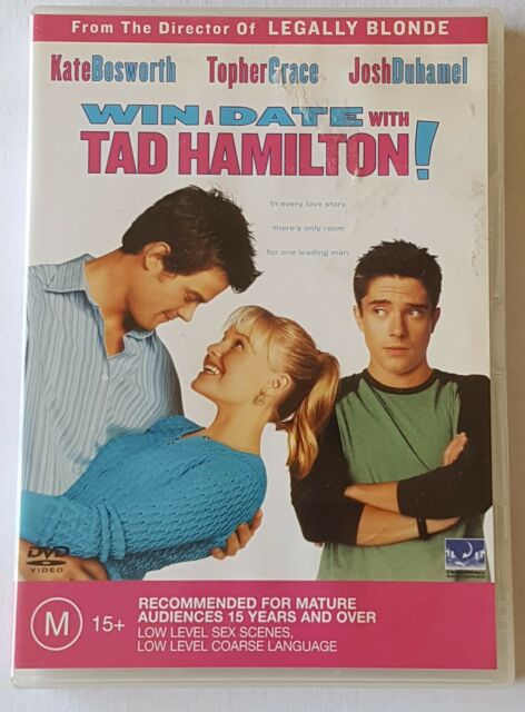 WIN A DATE WITH TAD HAMILTON! DVD LIKE NEW (#DVD01002)
