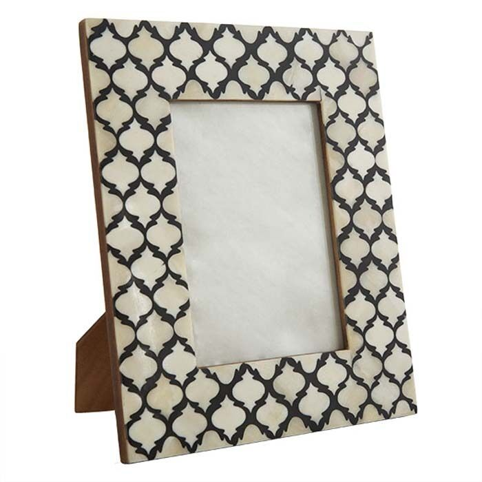 Picture Photo Frame Moorish Moroccan Handmade Buffalo Bone B&w ...