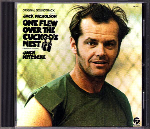 ONE FLEW OVER THE CUCKOO'S NEST Jack Nitzsche OST Soundtrack CD Nicholson 1975