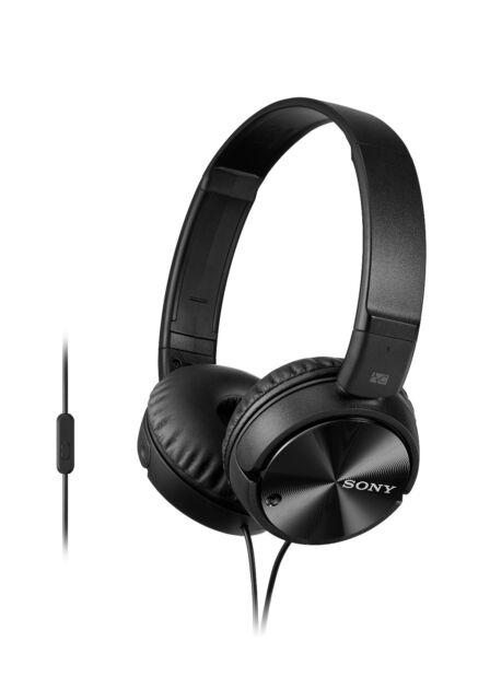 Black Sony Noise Cancelling Headphones