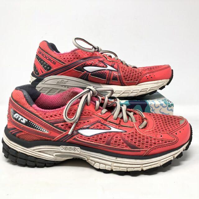 Women's Brooks Adrenaline GTS 13 Size 7.5B Sneakers Shoes Running Orange  Pink L4