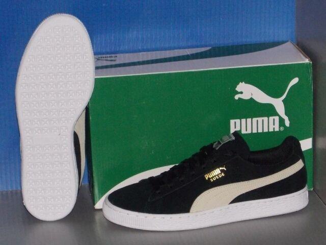 Puma Suede Klassiske Kvinners Svart Ru4S7