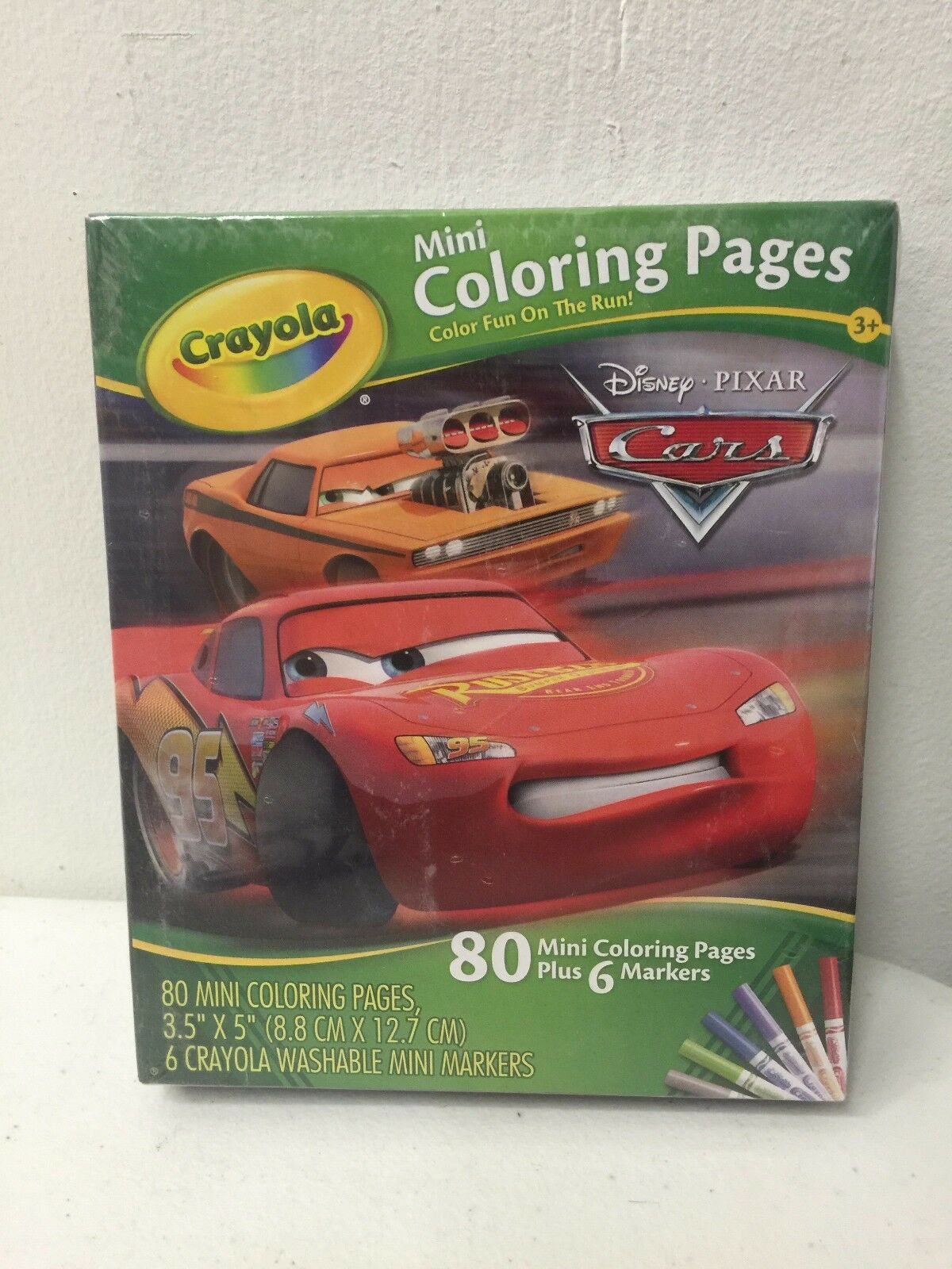 Crayola Mini Coloring Pages Cars Coloring Page