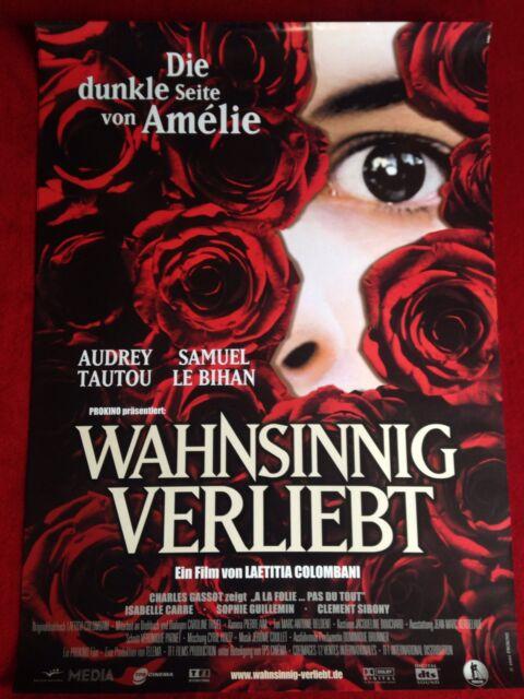 Wahnsinnig Verliebt Kinoplakat Filmplakat A1 Poster Audrey Tautou