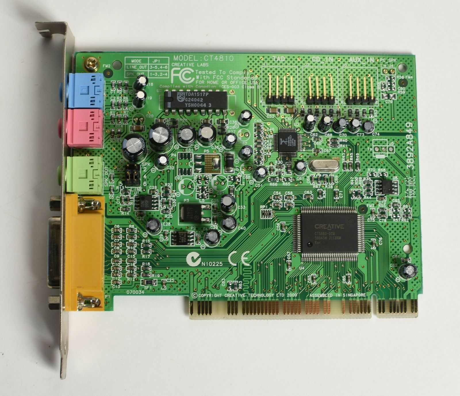 Creative Ct4810 Sound Card Driver Download