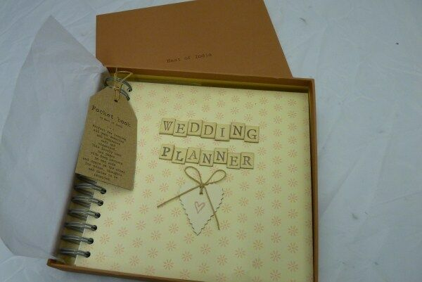 Boxed Wedding Planner Book East Of India