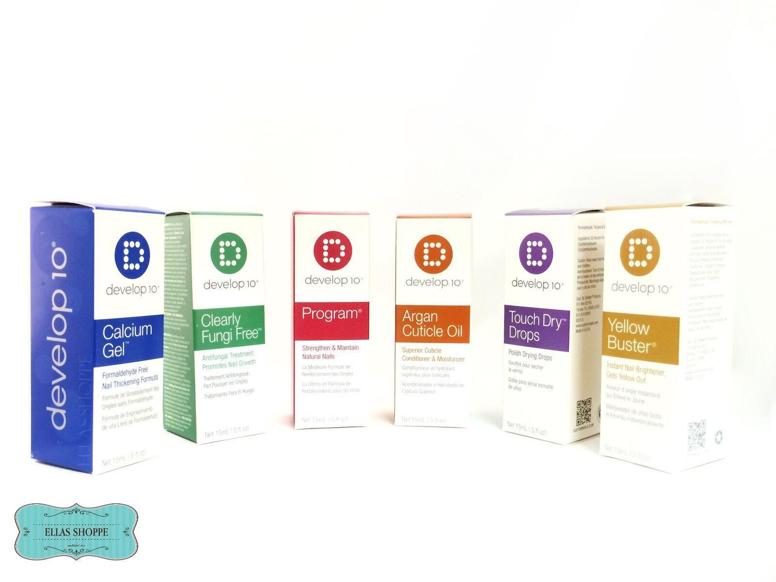 Develop 10 Calcium GEL Formaldehyde Nail Thickening Formula 15 Ml | eBay