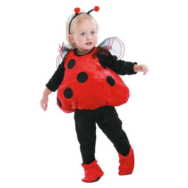 Totally Ghoul Ladybug Vest Baby Toddler Halloween Costume 2t | eBay