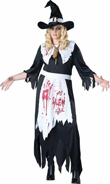 sc 1 st  eBay & Plus Size Salem Witch Costume Adult 2x | eBay