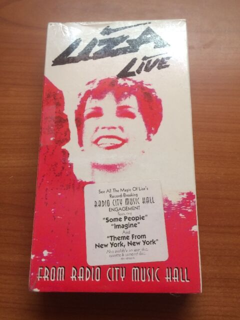 Live from Radio City Music Hall [Video] by Liza Minnelli (VHS, Nov-1992) ...48
