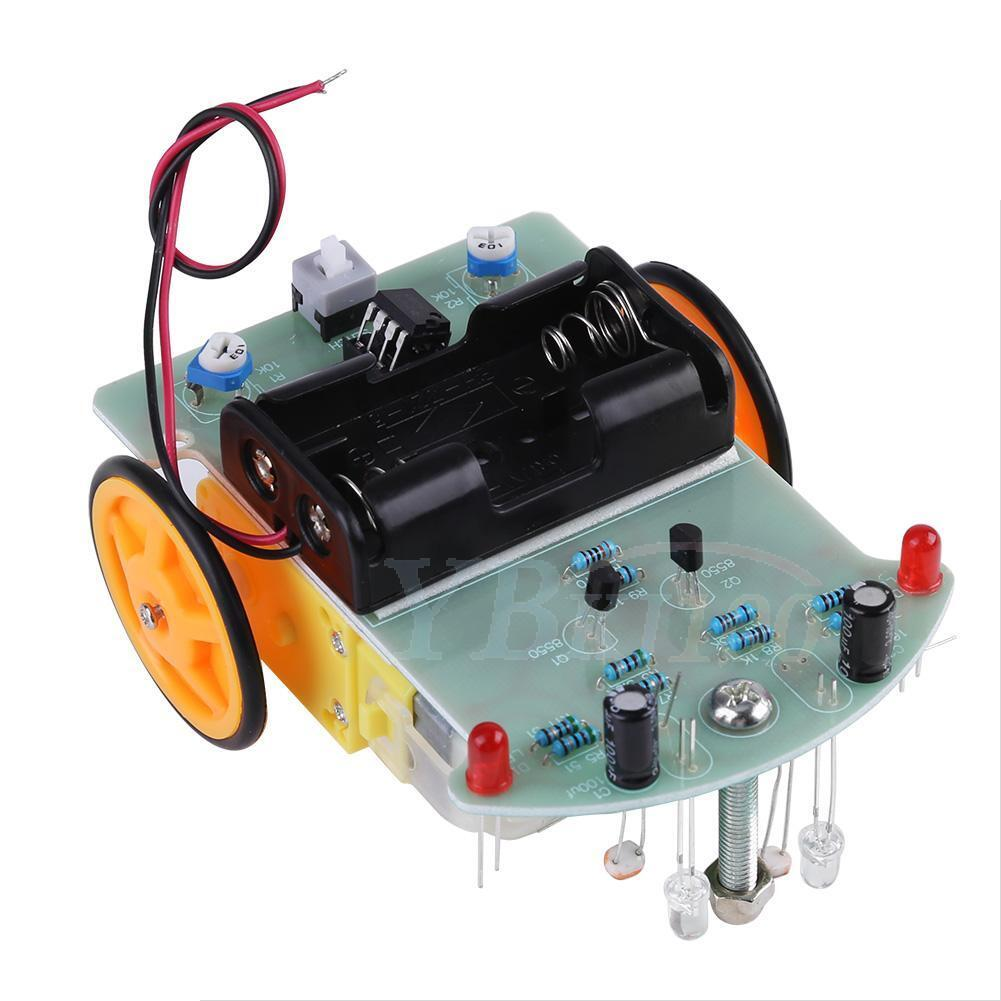 2wd Smart Car Tracking Robot Car Chassis Diy Kit Reduction Motor