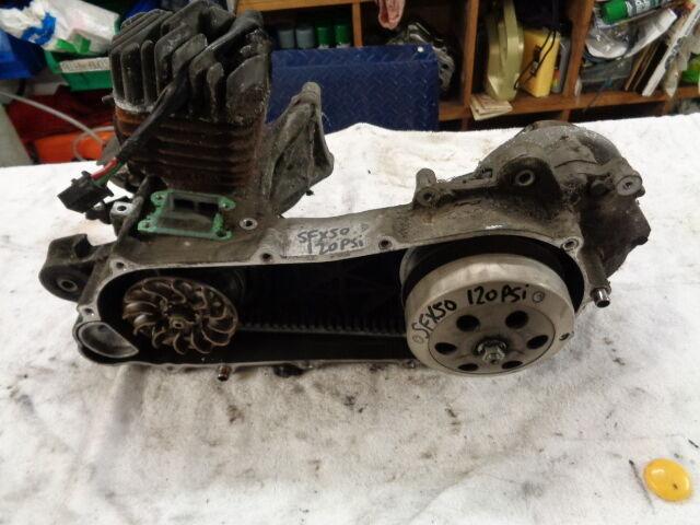 2000 HONDA SFX50 SFX 50 SCOOTER MOPED PART 2T ENGINE MOTOR ASSY GWO 120 PSI
