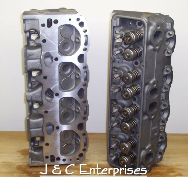 350 Chevy 624 76cc Cylinder Heads 1986 & Older Early 1.94