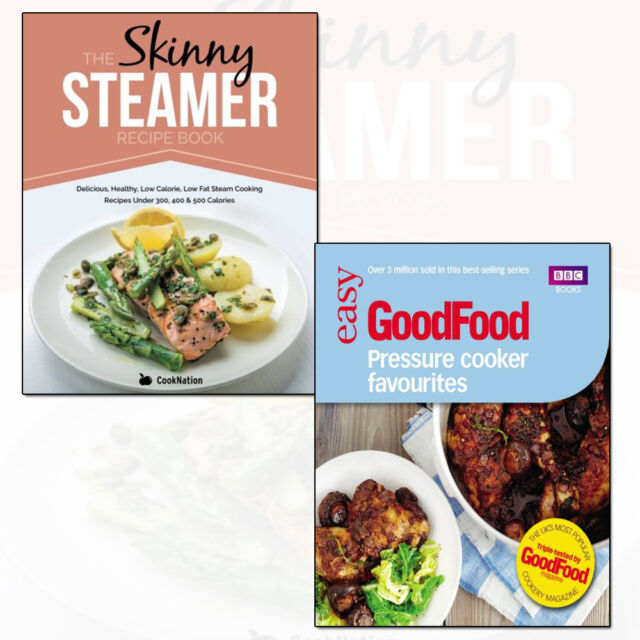 Good food pressure cooker and skinny steamer recipe book 2 books good food pressure cooker and skinny steamer recipe book 2 books collection set forumfinder Images