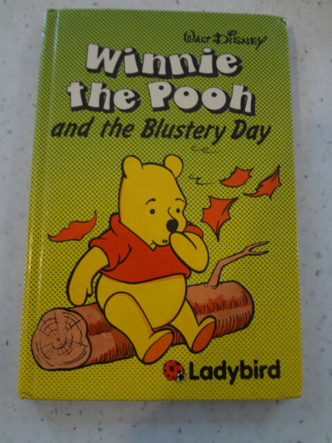 Ladybird Disney  - Winnie the Pooh and the Blustry Day 1985 edition