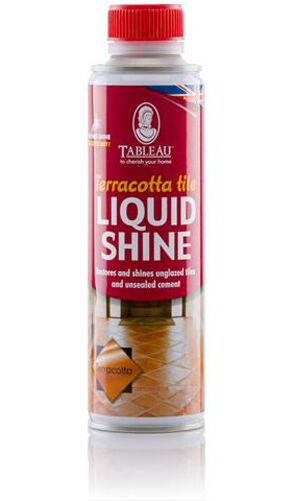 Tableau Terracotta Tile Liquid Shine 250ml Terracotta Coloured Polish for Tiles