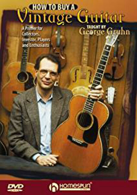George Gruhn: How To Buy A Vintage Guitar [DVD] [Region 1] [NTSC], New DVD, ,