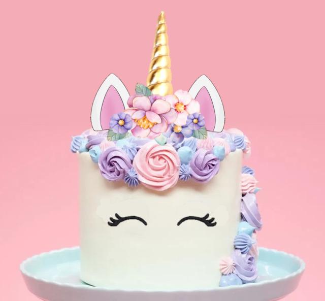 Edible Horseshoe Cake Decorations