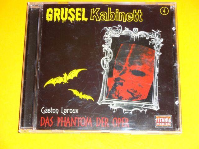 *CD* Gruselkabinett 4 - Das Phantom der Oper * Titania Medien *