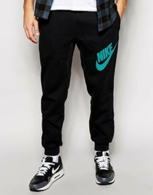 744842-475 New with tag MEN'S NIKE AW77 fleece cuffed sweatpant jogger Pant