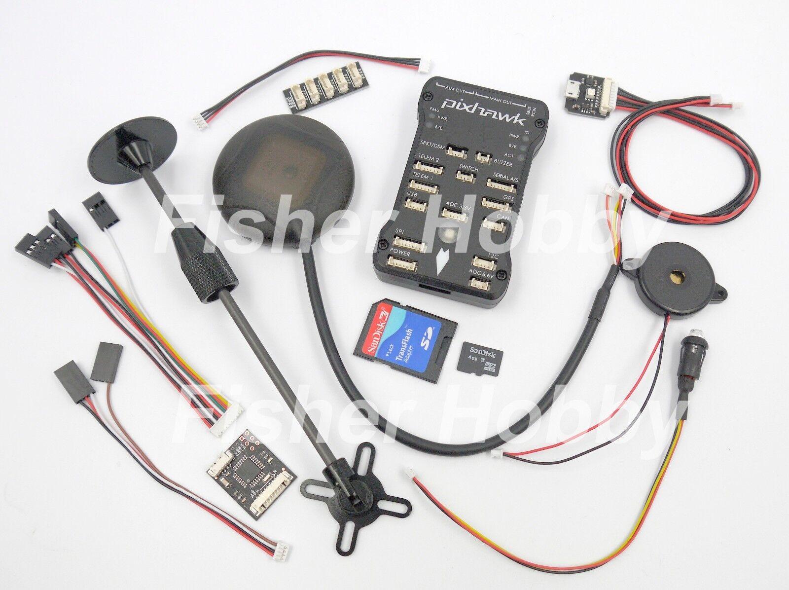Pixhawk Px4 2.4.6 32 Bit Arm Flight Controller Neo-6m /7m GPS 4g TF ...