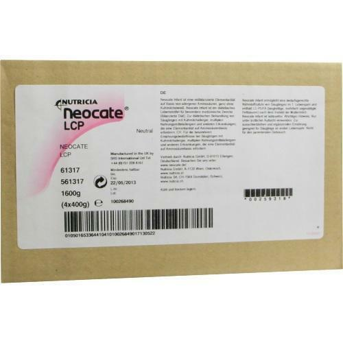 NEOCATE Infant Pulver 4X400g PZN 259318
