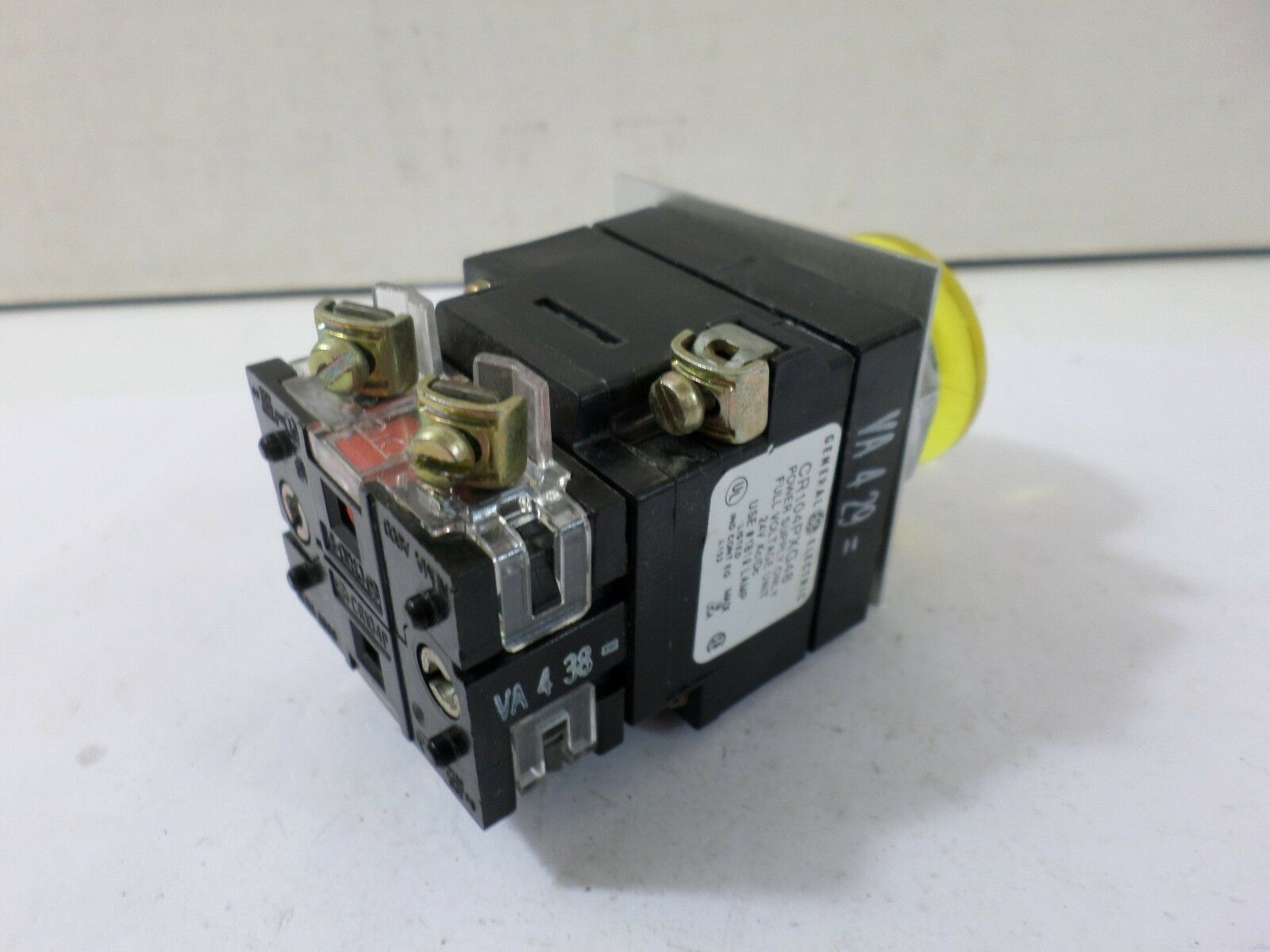 s l1600 general electric cr104pxg48 light module w push button t65481 ebay  at readyjetset.co