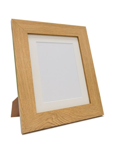 Metro Oak Picture Photo Frames 39 Sizes Quality MDF Wood Moulding ...