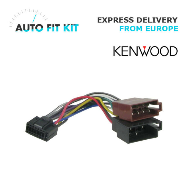 kenwood 16 pin iso wiring harness loom adaptor wire radio connector rh ebay com iso wire harness Wire Harness Assembly Boards
