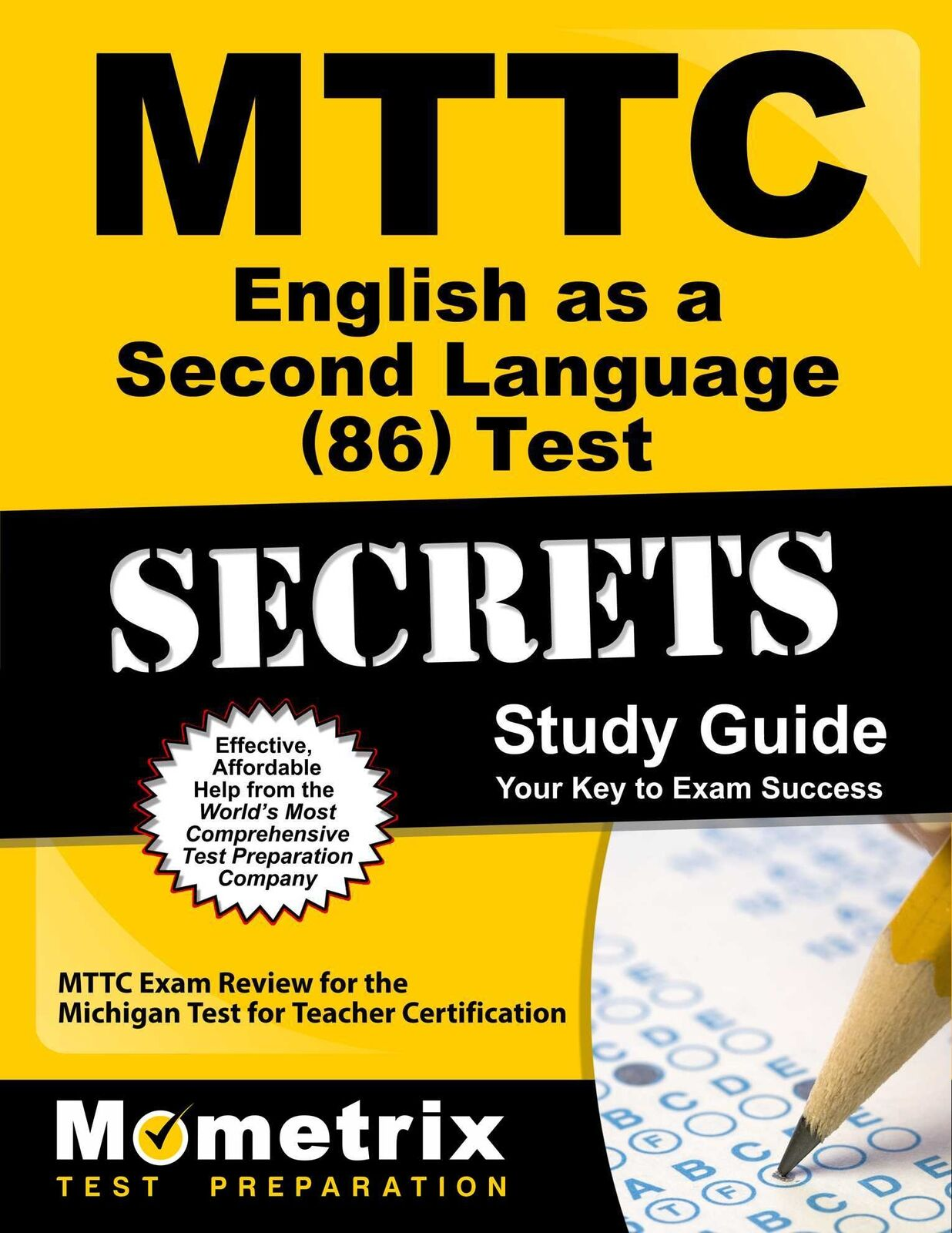 Mttc english as a second language 86 test secrets mttc exam picture 1 of 1 1betcityfo Image collections
