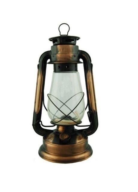 BRONZE Hurricane 12 In Lamp Emergency Light Oil Lantern Hanging Kerosene  Rustic