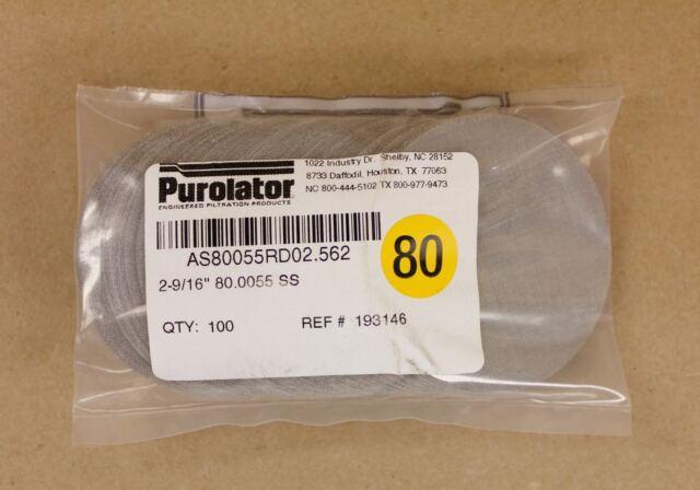 100 Purolator 2.56\