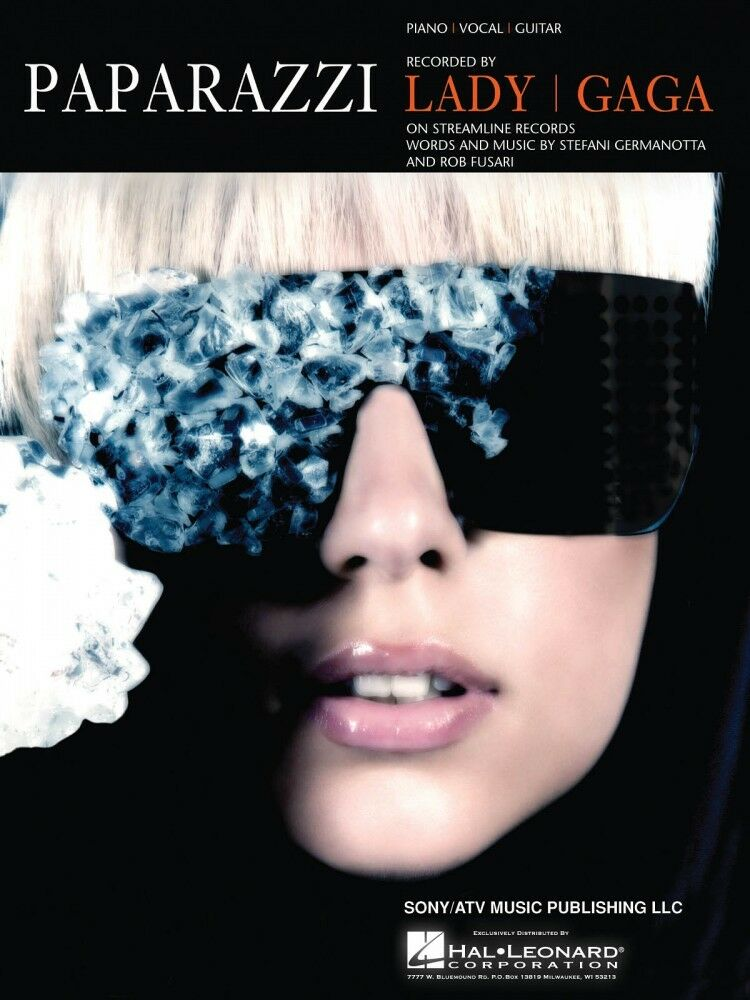Paparazzi Song By Lady Gaga For Piano Vocal Sheet Music Guitar