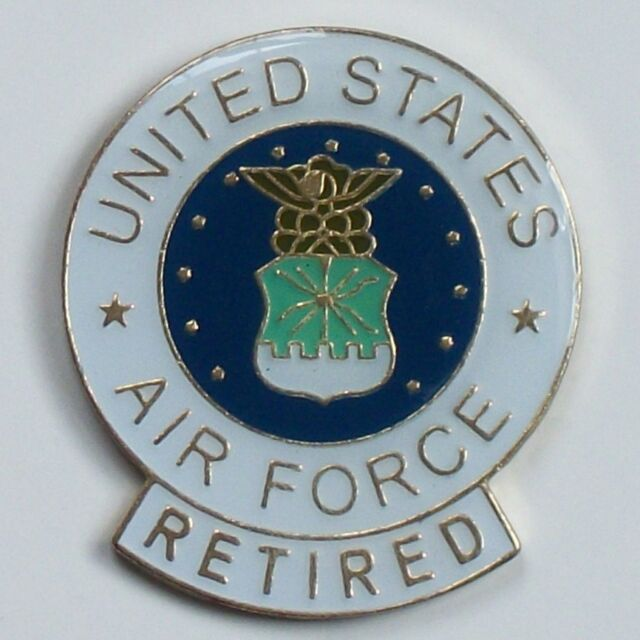 Us air force retired metal pin military seal eagle lapel tack hat us air force retired metal pin military seal eagle lapel tack hat jacket tac publicscrutiny Choice Image