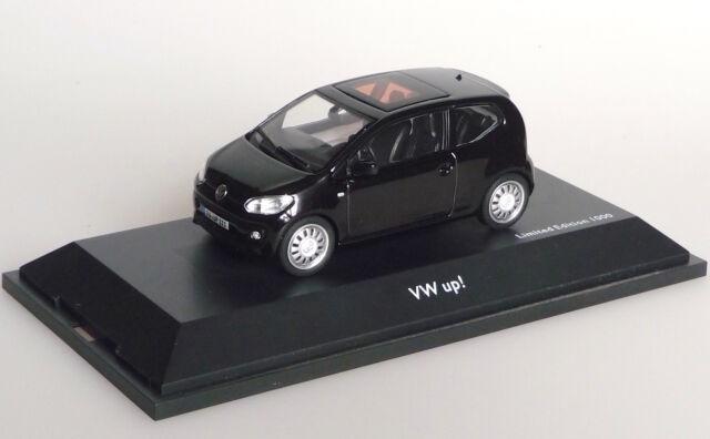 vw up 2011 schwarz modellauto 1 43 schuco ebay. Black Bedroom Furniture Sets. Home Design Ideas