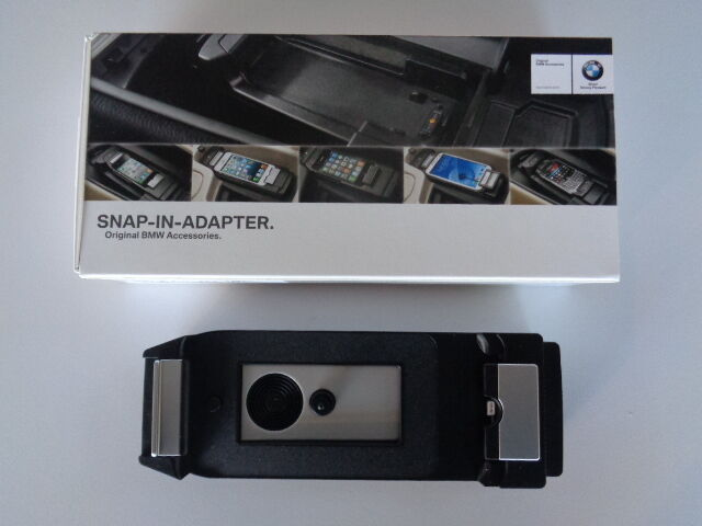 bmw snap in adapter connect iphone 6 ebay. Black Bedroom Furniture Sets. Home Design Ideas