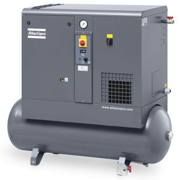 Atlas Copco Gx 4 Ff Rotory Screw Air Compressor 5 Hp 3 Ebay