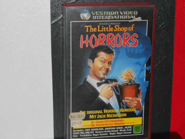 The Little Shop of Horrors ( VHS )