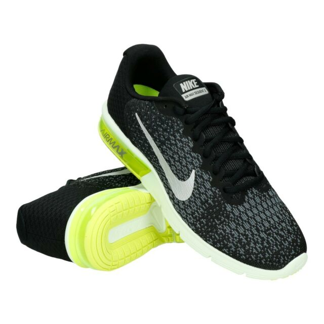 NIKE AIR MAX SEQUENT 2 MEN'S RUNNING SHOES US SIZE 10 STYLE # 852461-011
