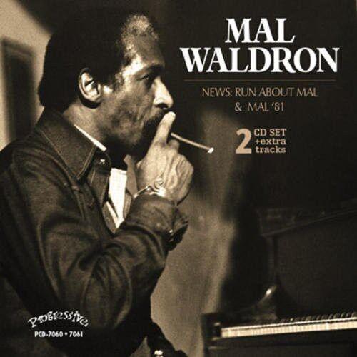 Mal Waldron, George - News: Run About Mal - Mal 81 [New CD]